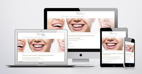 Referenz: Zahnarztpraxis Stampfer