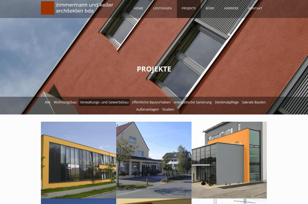 Übersicht der Projekte